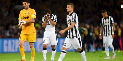 Juventus fue descendido a la Serie B por un escándalo de fraudes arbitrales Foto:Getty Images