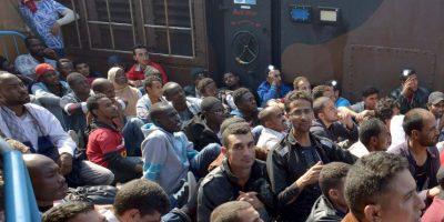 Todos los migrantes corren riesgos durante sus viajes. Foto:Getty Images