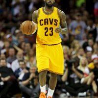 """""""The King"""" ganó 65 millones de dólares y es el basquetbolista mejor pagado en la actualidad. Foto:Getty Images"""