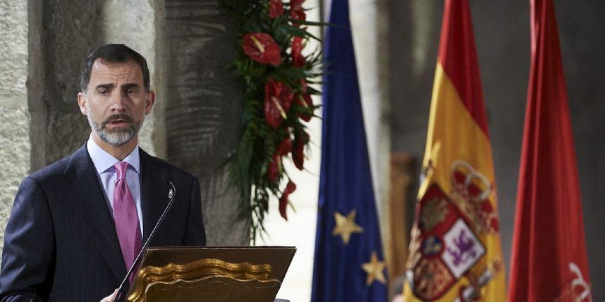 El Rey de España revoca el título de su hermana