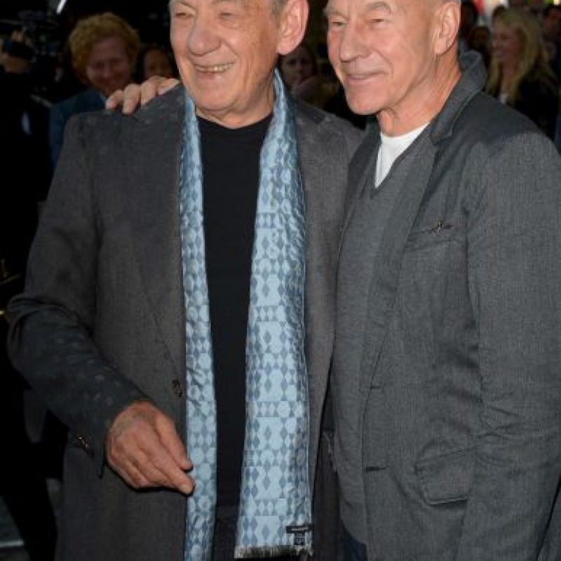 McKellen ofició la boda de Patrick y su novio Sunny Ozell en 2013 Foto:Getty Images