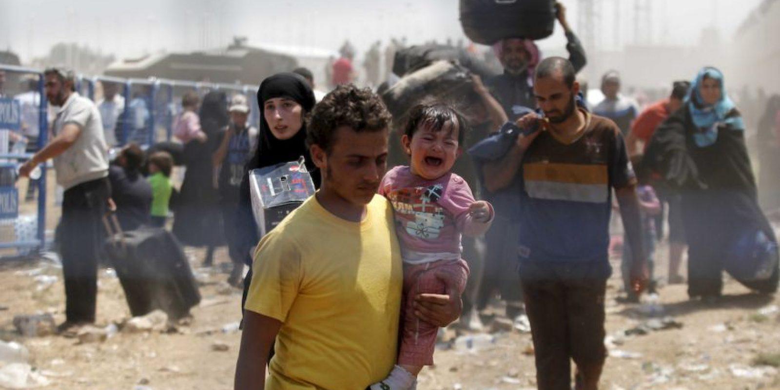 La Organización de las Naciones Unidas (ONU) informó que el número de refugiados por la violencia en Siria alcanza los 4.27 millones, de acuerdo a la Agencia de la ONU para los Refugiados. Foto:Getty Images