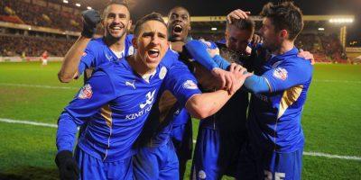 Equipo más viejo: Leicester City (28.4 años) Foto:Getty Images