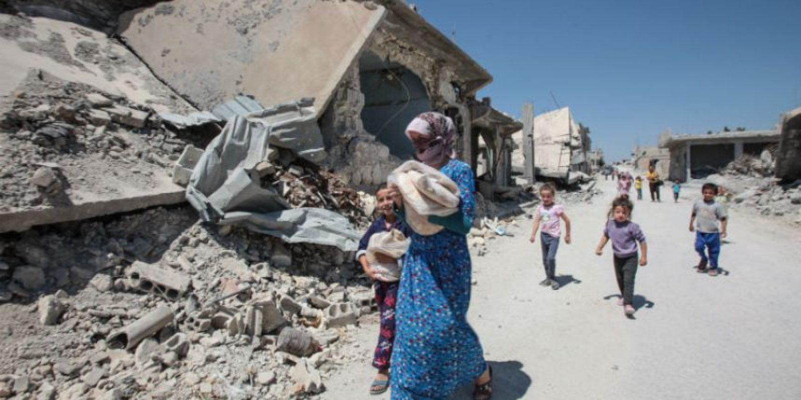 Donde fallecieron seis personas. Foto:Getty Images