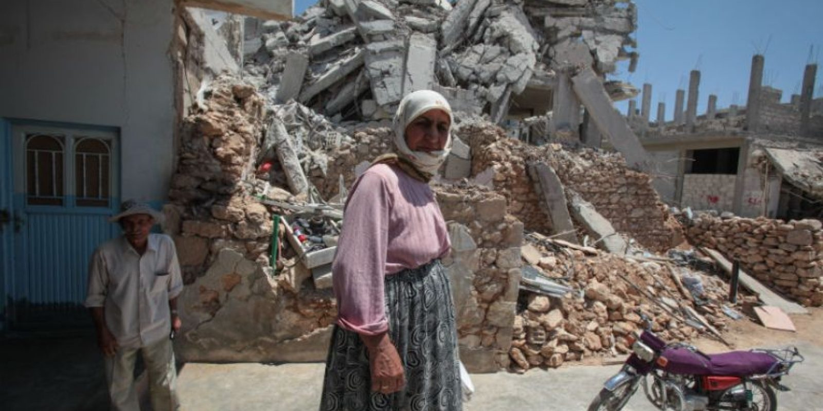El régimen ha dicho que el bombardeo fue en respuesta a los morteros que explotaron en el centro de Damasco la semana pasada. Foto:Getty Images