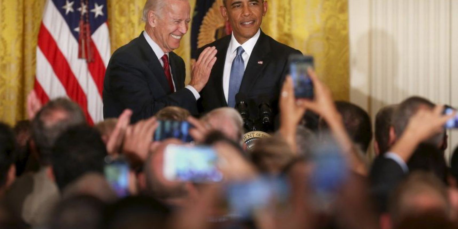Tanto Biden como Clinton compitieron con Obama por la nominación de 2008 Foto:Getty Images