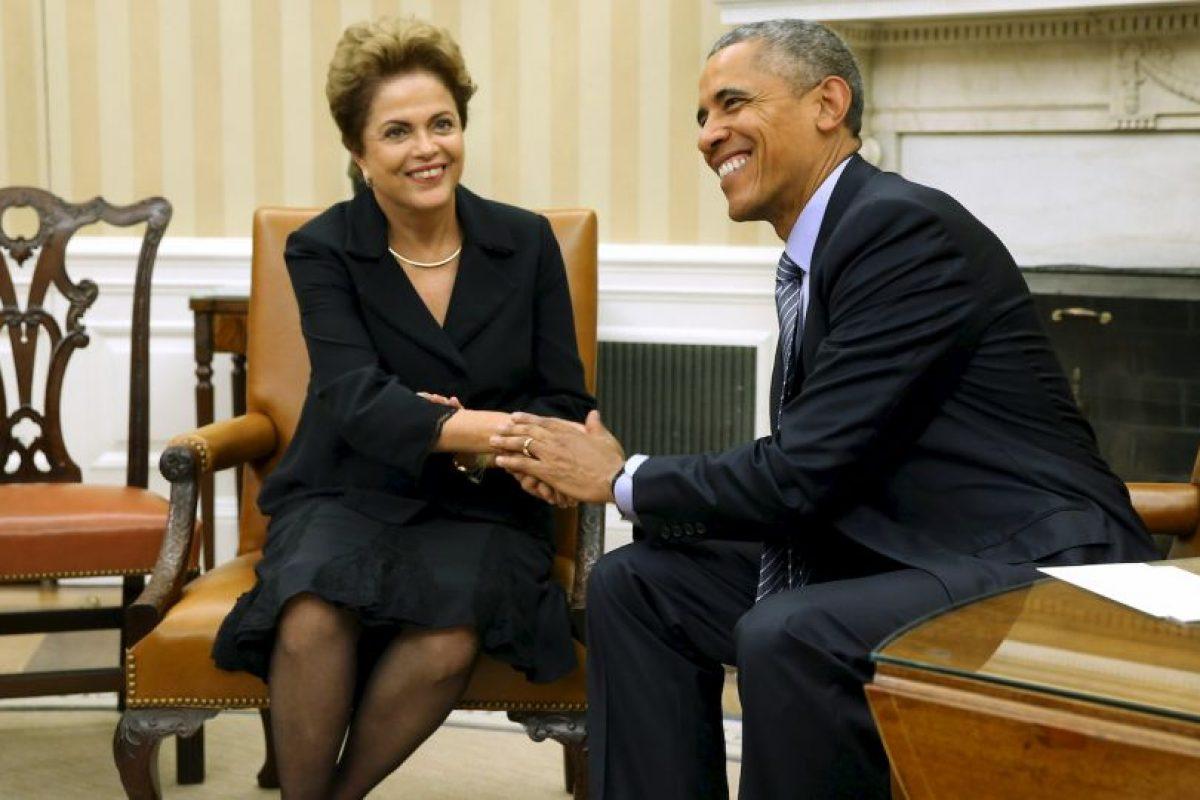 1. Se reunió con Barack Obama Foto:Getty Images