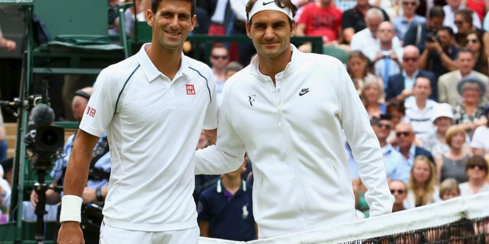 Novak Djokovic y Roger Federer protagonizaron uno de los partidos de tenis más emocionantes de los últimos años. Foto:Getty Images