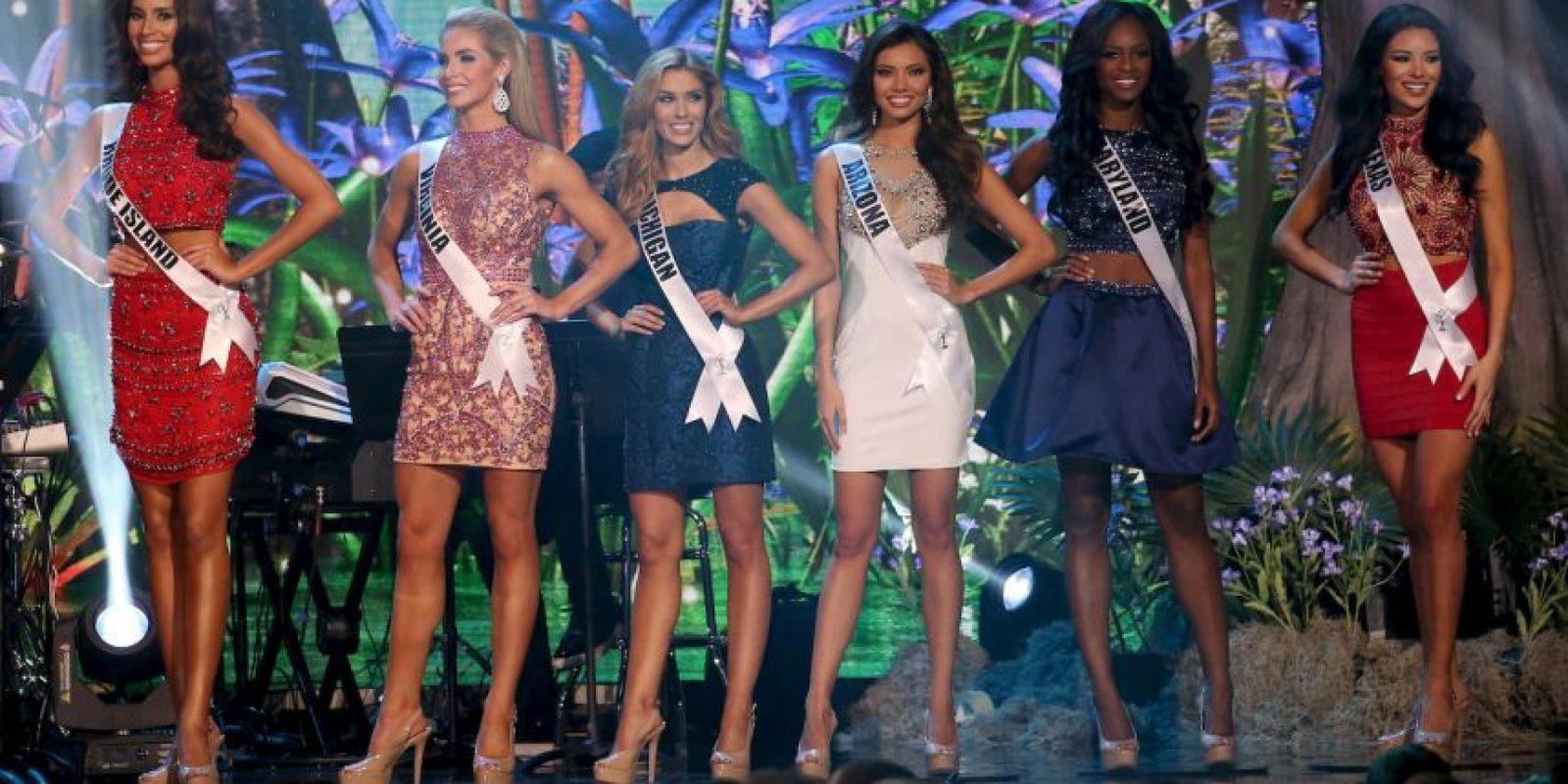 El certamen de Miss USA estuvo envuelto en la polémica a causa de los comentarios de Donald Trump Foto:Getty Images