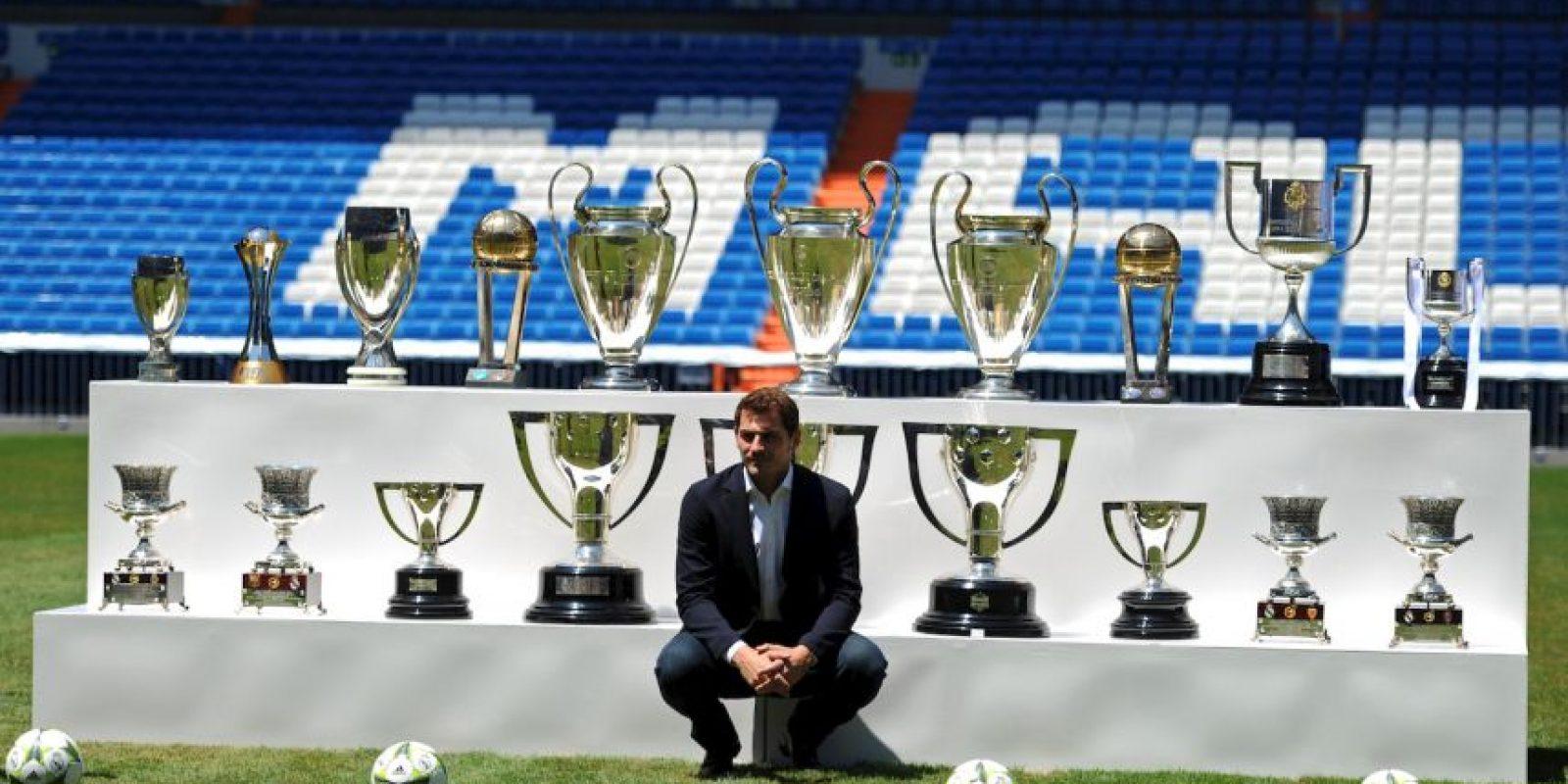 """""""Me hubera gustado que acabara su carrera en el Madrid"""" Foto:Getty Images"""