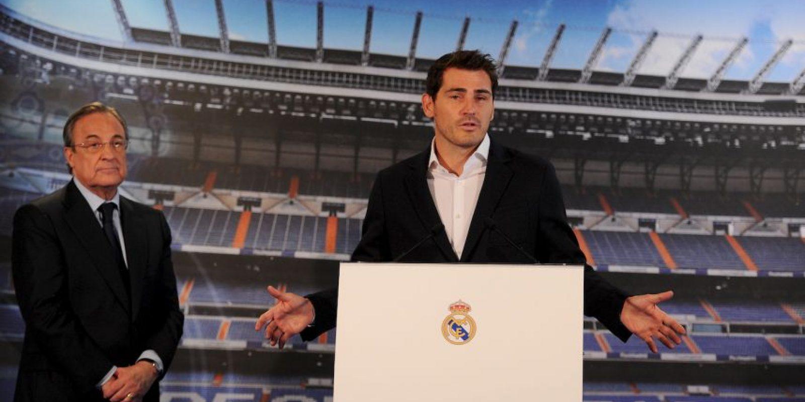 """Con estas palabras, el club merengue se despidió de uno de los jugadores más importantes en la historia: """"Gracias, Iker, por todo lo realizado. Te vas pero no olvidamos que tú perteneces para siempre al corazón del Real Madrid"""". Foto:Getty Images"""