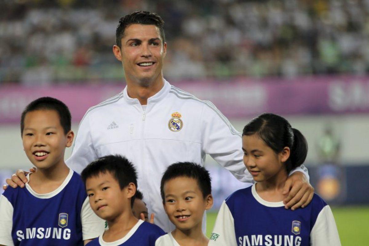 1. Cristiano Ronaldo @Cristiano (Futbol/Portugal): 225 mil 594 dólares por tuit. Foto:Getty Images