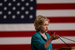 Actualmente es la favorita del Partido Demócrata. Foto:Getty Images