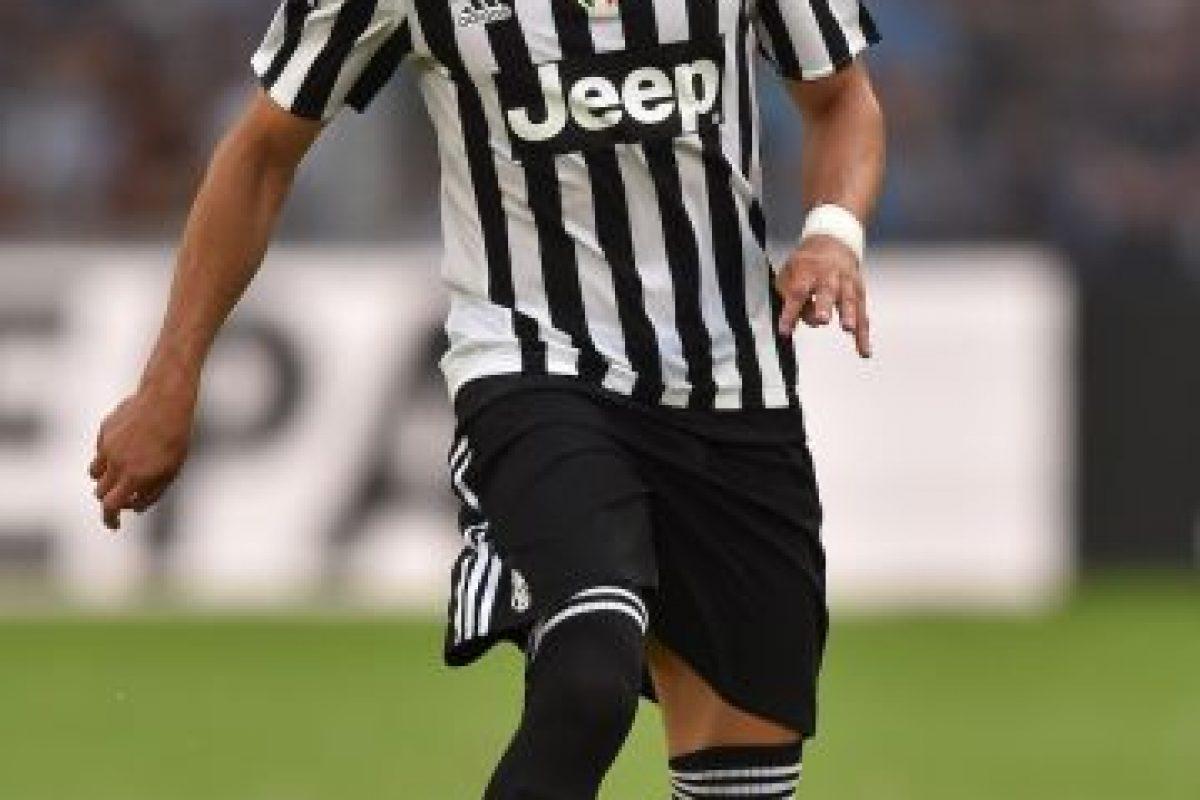 """Tras cinco meses fuera de las canchas por una fractura de tobillo, Cáceres volvió a jugar con la Juventus, y podrá estar desde comienzos de esta temporada en que buscará con su equipo, ganar el quinto """"Scudetto"""" al hilo. Foto:Getty Images"""
