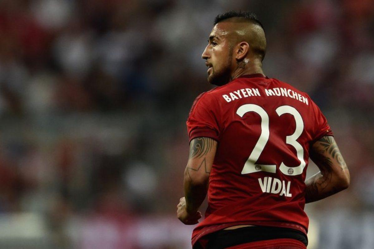 MEDIOS: Arturo Vidal (Bayern Munich/Chile) Foto:Getty Images