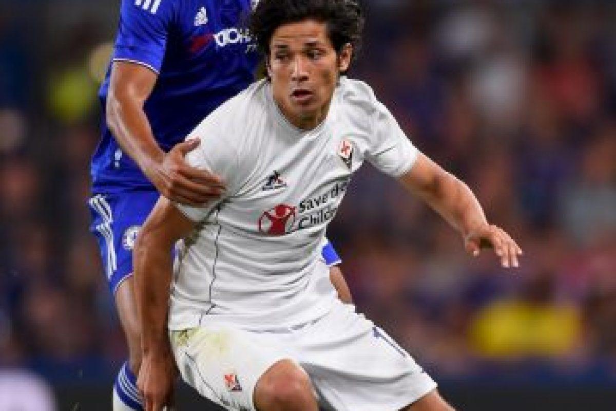 """Tras una lesión en 2014, """"Mati"""" volvió a brillar con la Fiorentina y se reincorporó a su selección que ganó la Copa América 2015, y sus buenas actuaciones han hecho que el equipo """"viola"""" desee extender su contrato de 2016 a 2019. Foto:Getty Images"""