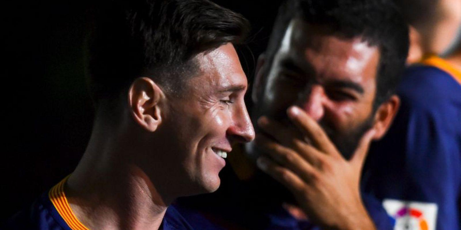 Barcelona pagó 34 millones al Atlético de Madrid para hacerse con el turco Foto:Getty Images