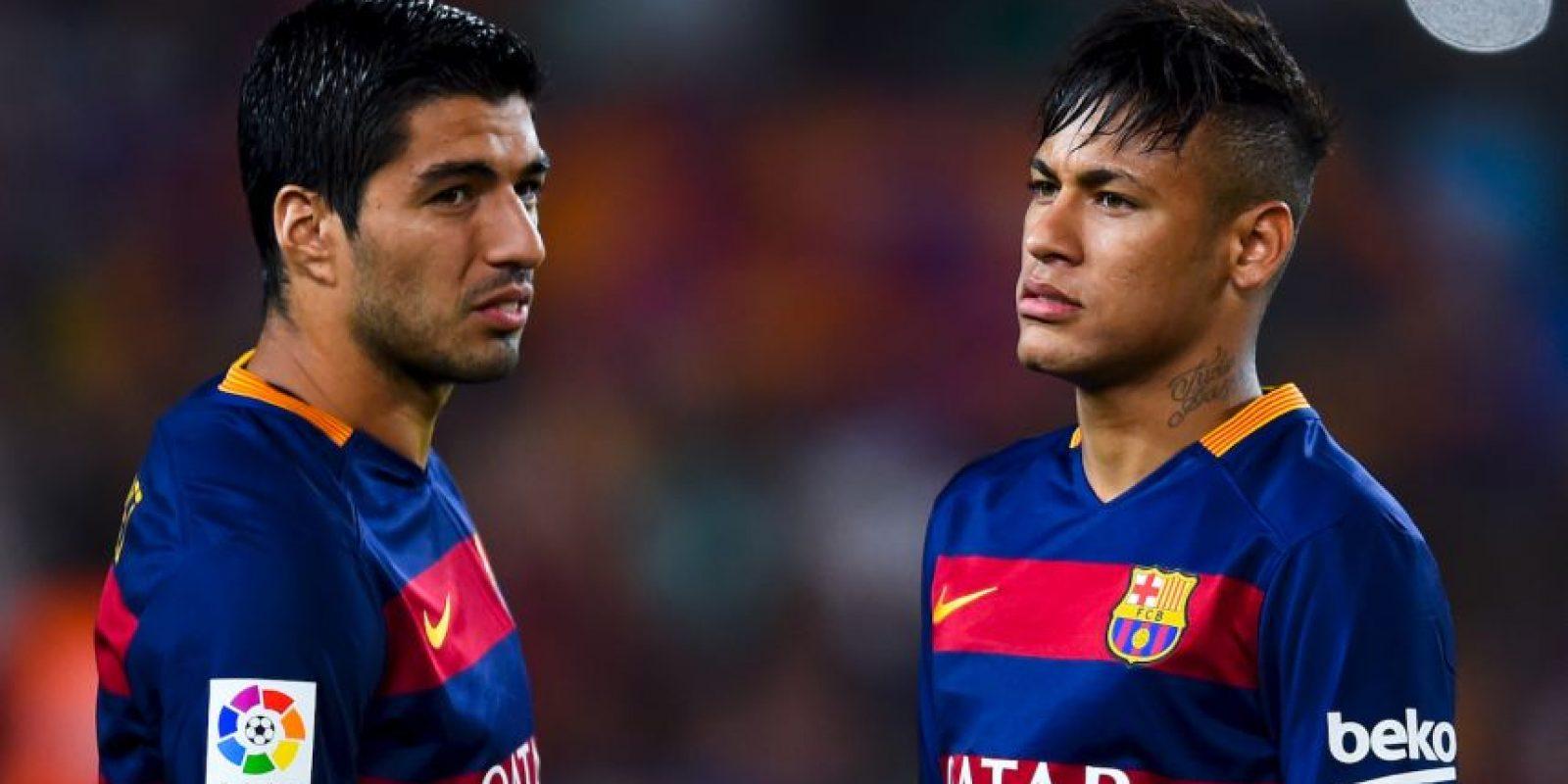 Neymar se perderá la Supercopa de la UEFA ante el Sevilla porque se contagió de paperas. Foto:Getty Images