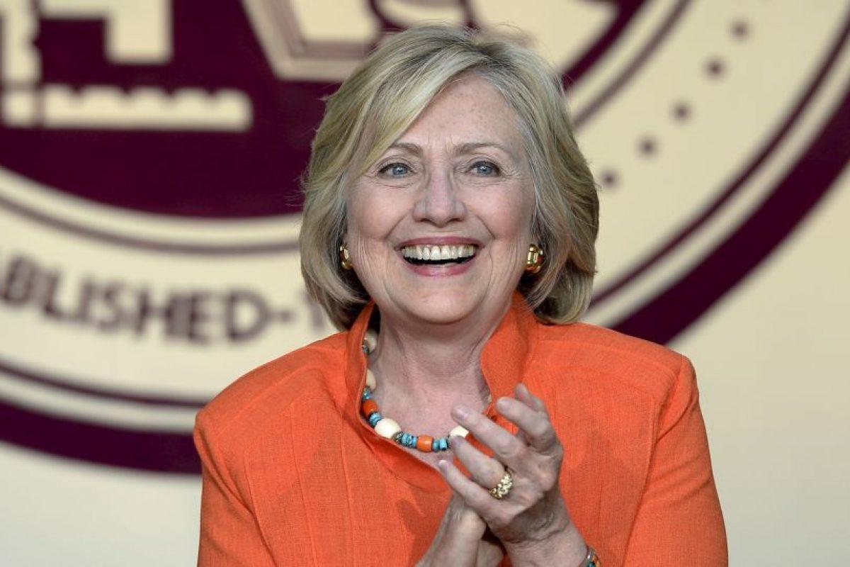 Hillary Clinton. La aspirante presidencial estadounidense nació el 26 de octubre de 1947, hace 67 años, en Chicago, Illinois. Foto:Getty Images
