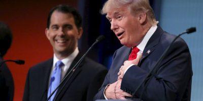 """3. Críticas a Barack Obama: """"Tenemos un presidente que no tiene idea de lo que hace. Diría que es un incompetente, pero eso no estaría bien"""", sentenció Trump. Foto:Getty Images"""