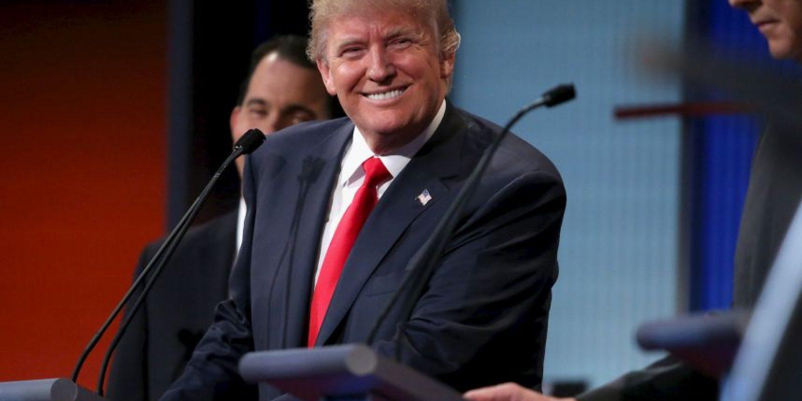 1. Donald Trump habla sobre posibilidad de candidatura independiente. Foto:Getty Images