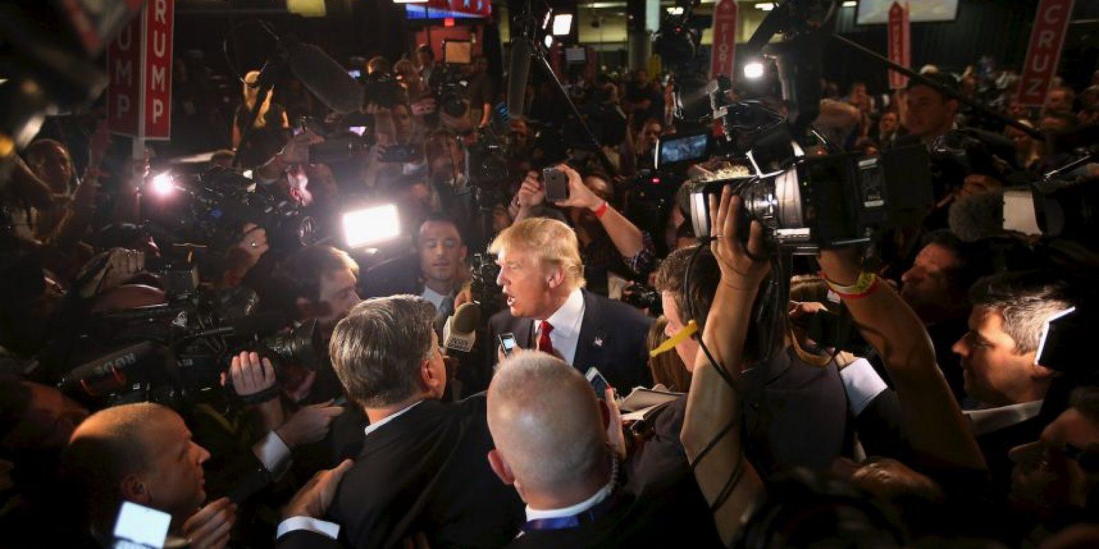 """""""Si Irán fuera un valor de bolsa les recomendaría que fueran y lo comprarán"""", indicó Donald Trump Foto:Getty Images"""