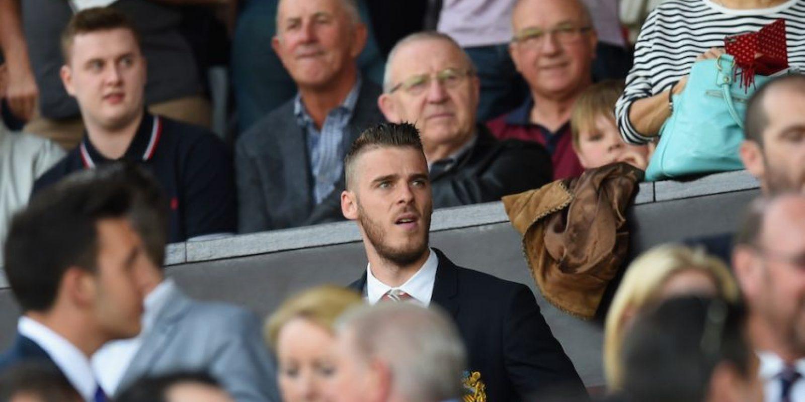 David de Gea ni siquiera fue convocado para el primer partido de la Premier League. Foto:Getty Images
