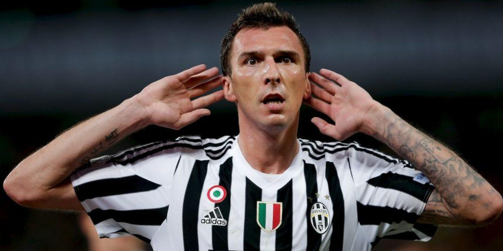 El delantero croata cambió al Atlético por la Juventus. Foto:Getty Images