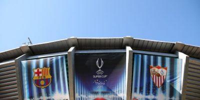 Barcelona y Sevilla se enfrentan en la Supercopa de la UEFA y a continuación podrán conocer 15 datos sobre esta competición. Foto:Getty Images