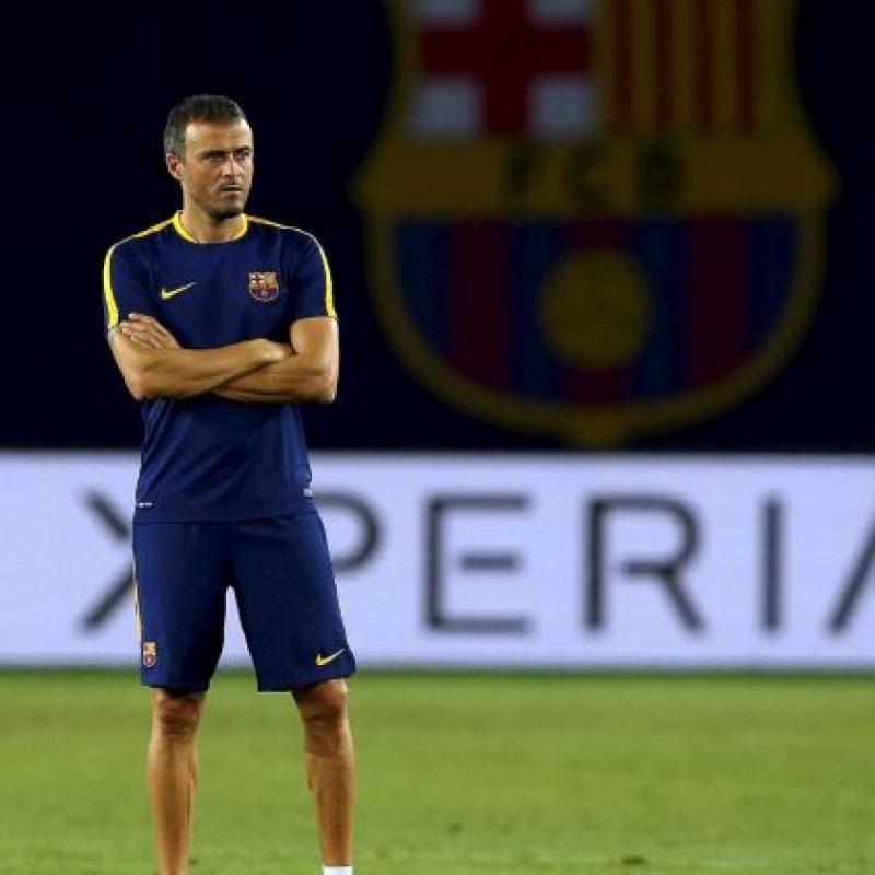 El DT Luis Enrique quiere igualar la hazaña de Pep Guardiola y conseguir el sextete. Foto:Getty Images