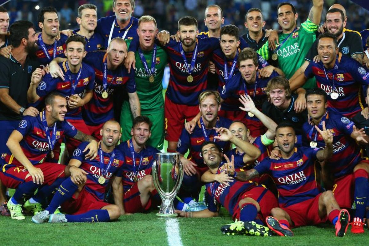 Barcelona (Campeón en 2014/2015) Foto:Getty Images