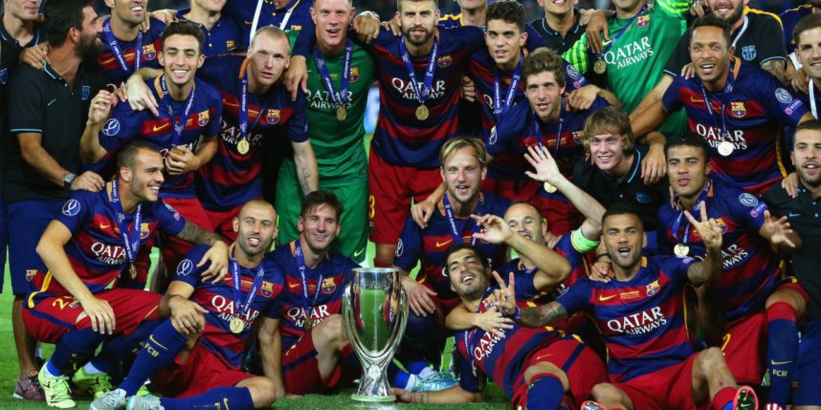 Barcelona (Campeón en 2014/2015) Foto: Getty Images