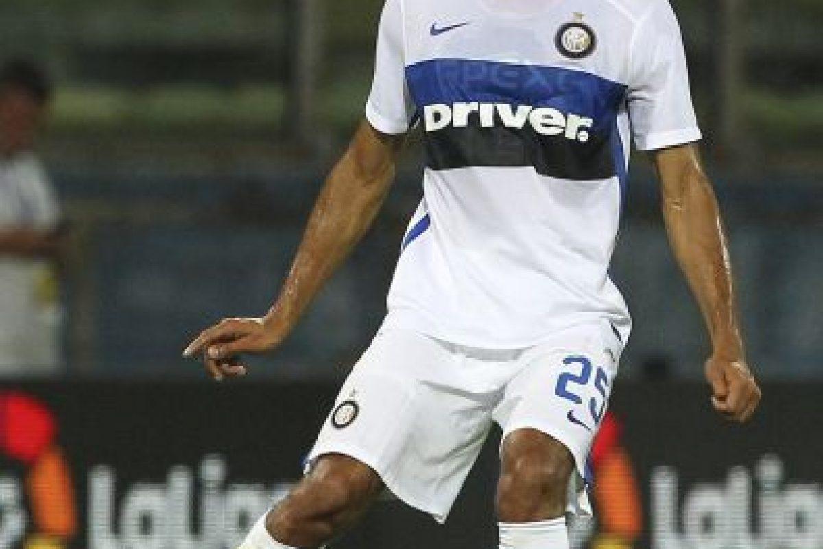 Salió del Atlético de Madrid para ir al Inter de Milán. Foto:Getty Images