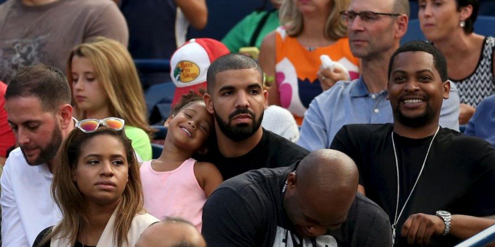 Fueron captados mientras cenaban juntos, después de que Serena ganara el torneo Foto:Getty Images