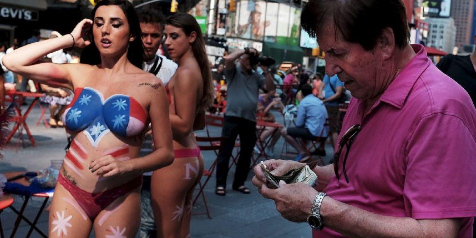 La mayoría de estas mujeres son latinas y en promedio tienen 26 años. Foto:Getty Images