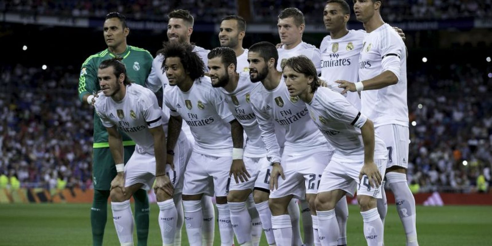 Real Madrid (Subcampeón en 2014/2015) Foto: Getty Images