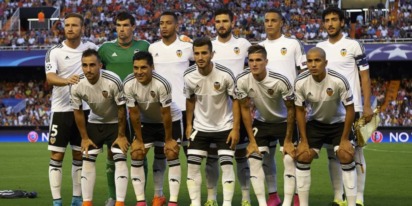 Valencia (4º en 2014/2015) Foto: Getty Images
