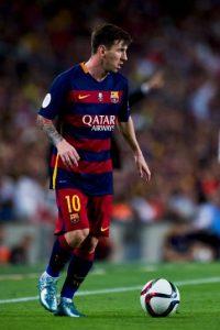Lionel Messi fue el encargado de cobrarlo. Foto:Getty Images