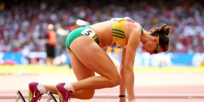 La australiaa participa en los 400 metros con obstáculos y 4X400 metros Foto:Getty Images