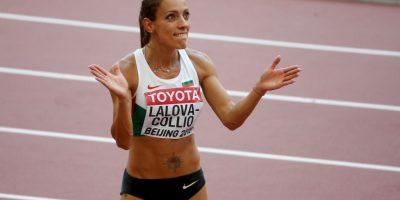 La búlgara corre los 100 y 200 metros planos Foto:Getty Images