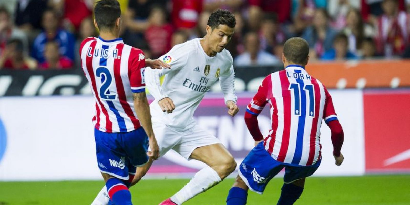 Sporting de Gijón 0-0 Real Madrid Foto: Getty Images