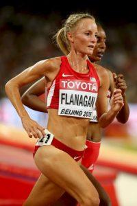 La estadounidense corre los 10 mil metros Foto:Getty Images