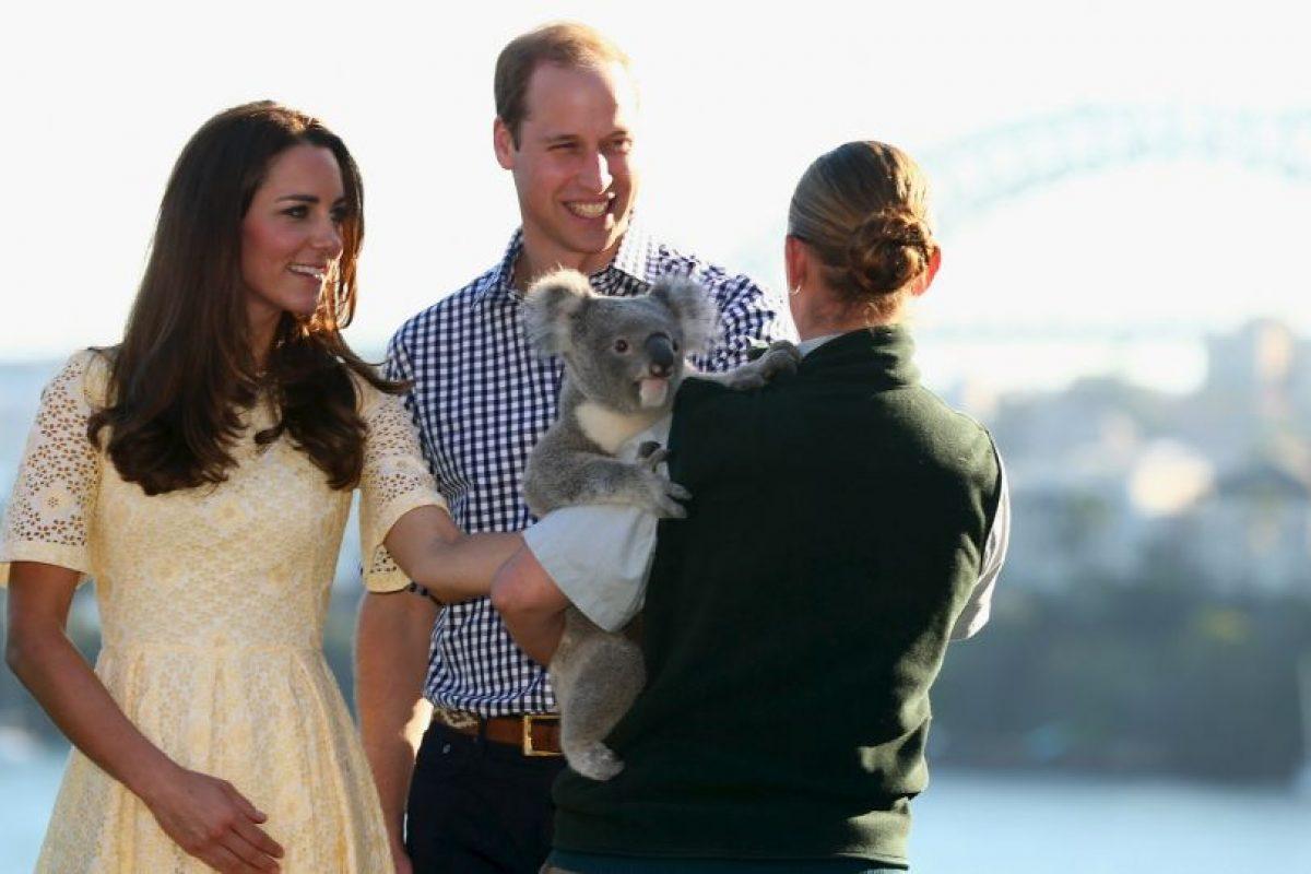 Kate Middleton y el Príncipe William de Inglaterra. Foto:Getty Images