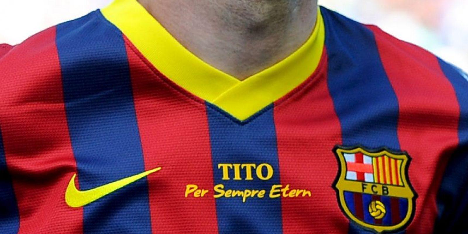 Este fue el uniforme usado en la campaña pasada. Foto:Getty Images