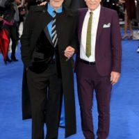 Patrick e Ian son amigos desde hace muchos años, Foto:Getty Images