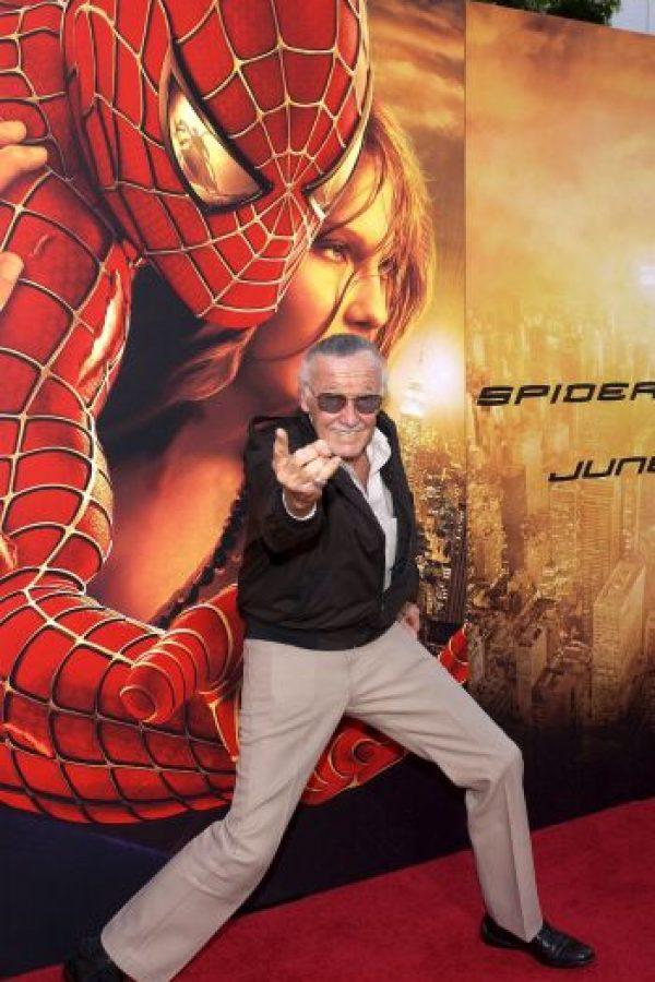 """Es el cocreador de """"Spider-Man"""" Foto:Getty Images"""