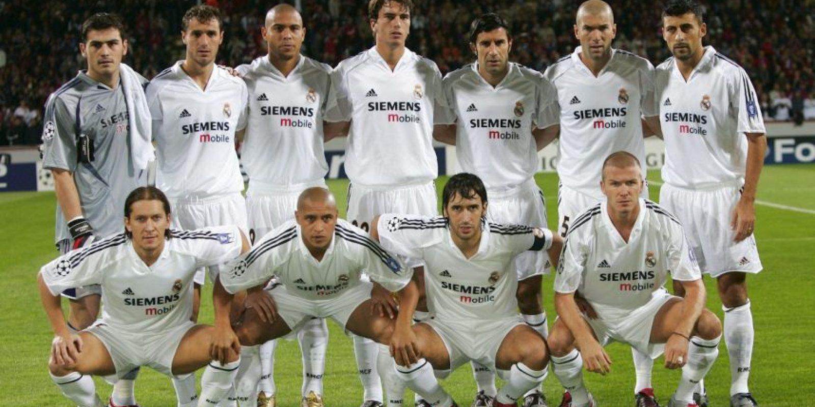 Así se le llamó al Real Madrid que vivió en la primera etapa de Florentino Pérez como presidente del club del 2000 al 2006. Foto:Getty Images
