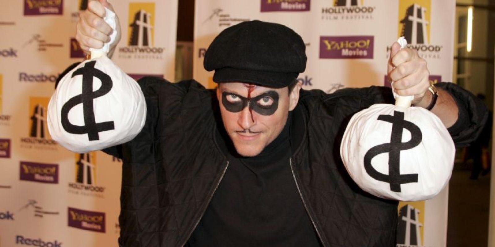 Este ladrón de bancos dio a conocer su estrategia. Foto:Getty Images