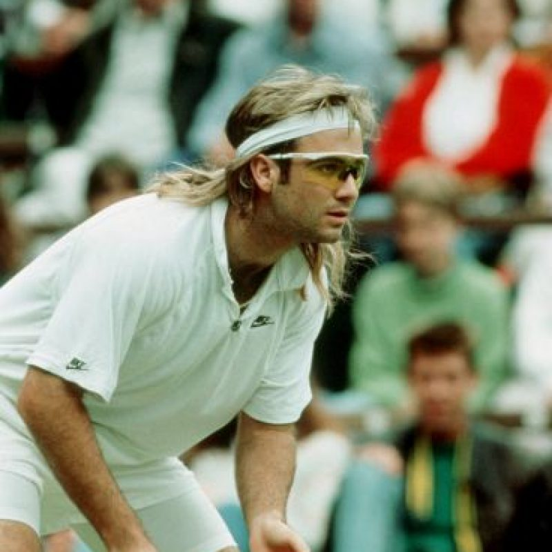 2. Andre Agassi Foto: Getty Images