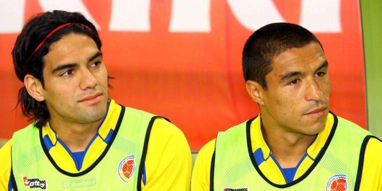 Fue internacional de Colombia por primera vez en 2001 para disputar el Sudamericano Sub-17. También disputó el Mundial Sub-20 en 2005. Foto:Getty Images